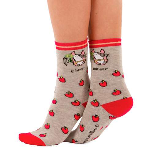 Bang On The Door 'Apple' Calf Socks size 12-3 (1 pair)