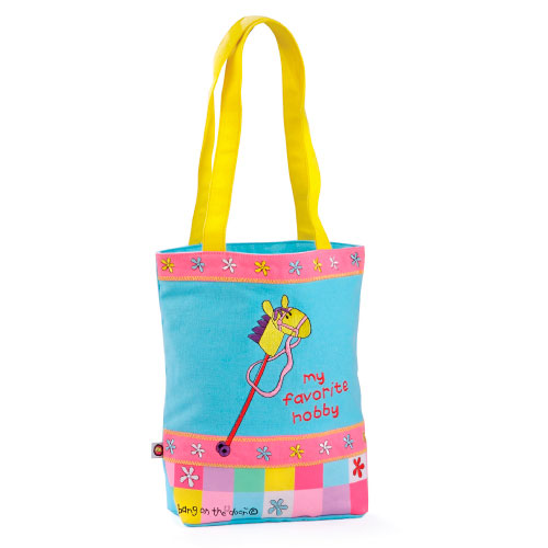 Bang On The Door Hobby Horse Canvas Bag