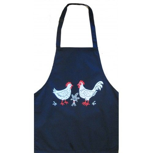 British Country Collection Chickens Child's Apron