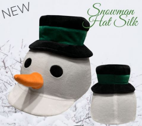 Equetech Childs Snowman Hat Cover