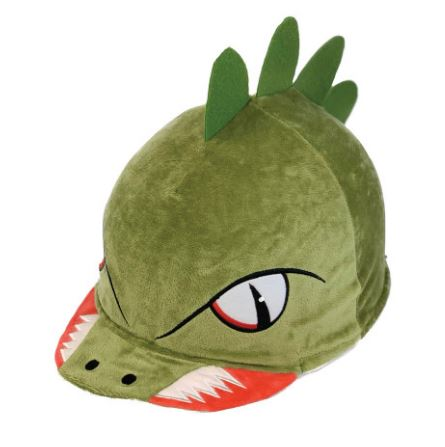 Equetech 'Dave Dino' 3D Hat Silk