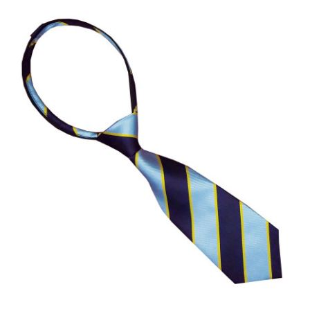 Equetech Junior PC Striped Zipper Tie
