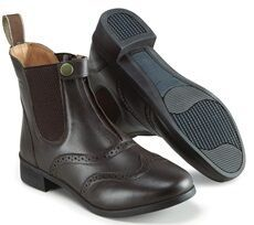 Harry Hall Eston Paddock Boots in Brown