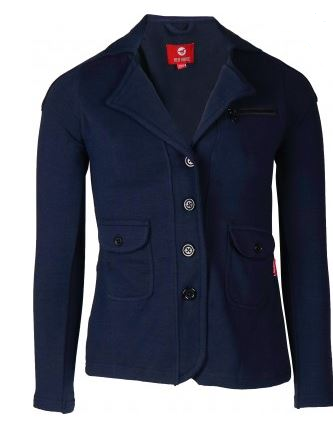 Red Horse Boys Junior 'Jump' Show Jacket in Blue