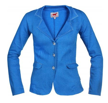 Red Horse Pirouette Riding Jacket in Royal Blue