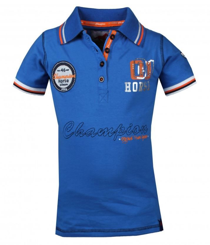 Red Horse Venice Polo Shirt In Royal Blue